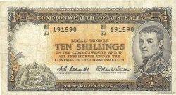 10 Shillings AUSTRALIE  1961 P.33a TB