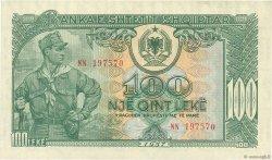 100 Lekë ALBANIE  1957 P.30a SPL