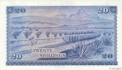 20 Shillings KENYA  1969 P.08a SPL