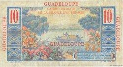 10 Francs Colbert GUADELOUPE  1946 P.32 TB
