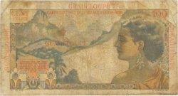 100 Francs La Bourdonnais GUADELOUPE  1946 P.35 pr.TB