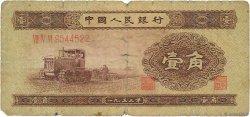 1 Jiao CHINE  1953 P.0863 AB