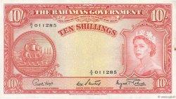 10 Shillings BAHAMAS  1953 P.14d TTB+