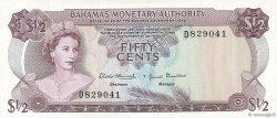 50 Cents BAHAMAS  1968 P.26a