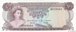 50 Cents BAHAMAS  1968 P.26a TTB+