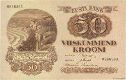 50 Krooni ESTONIE  1929 P.65a SPL