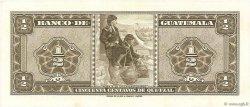 50 Centavos de Quetzal GUATEMALA  1968 P.051e NEUF