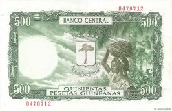 5000 Bipkwele sur 500 Pesetas GUINÉE ÉQUATORIALE  1980 P.19 SPL