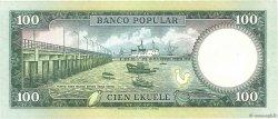 100 Ekuele GUINÉE ÉQUATORIALE  1975 P.11 SUP