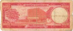 1000 Ekuele GUINÉE ÉQUATORIALE  1975 P.13 AB