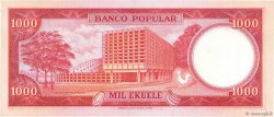 1000 Ekuele GUINÉE ÉQUATORIALE  1975 P.13 SPL