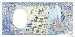 1000 Francs type 1984 GUINÉE ÉQUATORIALE  1985 P.21