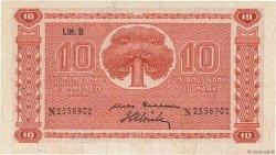 10 Markkaa FINLANDE  1945 P.085 SPL