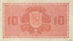 10 Markkaa FINLANDE  1945 P.085 TB+