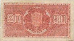 20 Markkaa FINLANDE  1922 P.063a pr.TTB