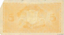 5 Markkaa FINLANDE  1922 P.076a TTB