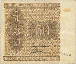 50 Markkaa FINLANDE  1945 P.079b pr.TTB