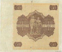 50 Markkaa FINLANDE  1945 P.087 TTB