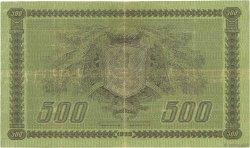 500 Markkaa FINLANDE  1922 P.066a pr.TTB