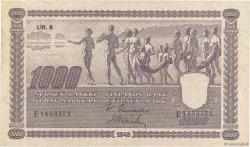 1000 Markkaa FINLANDE  1945 P.090 TTB