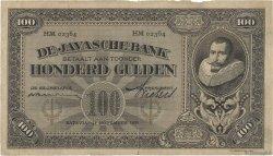 100 Gulden INDES NEERLANDAISES  1929 P.073c pr.TTB