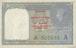 1 Rupee BIRMANIE  1945 P.25b pr.TTB