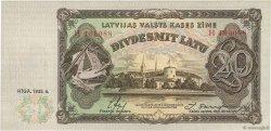 20 Latu LETTONIE  1935 P.30a NEUF
