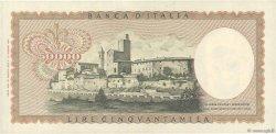50000 Lire ITALIE  1972 P.099c SPL