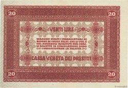 20 Lire ITALIE  1918 PM.07 pr.SPL