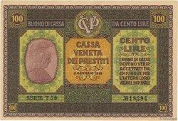 100 Lire ITALIE  1918 PM.08 pr.SUP