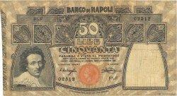 50 Lire ITALIE  1914 PS.856 TB