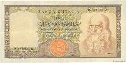 50000 Lire ITALIE  1972 P.099c TTB