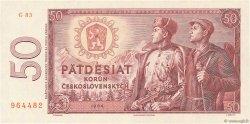 50 Korun TCHÉCOSLOVAQUIE  1964 P.090b NEUF