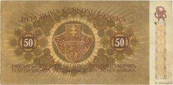 50 Korun TCHÉCOSLOVAQUIE  1919 P.010a TTB