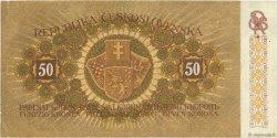 50 Korun TCHÉCOSLOVAQUIE  1919 P.010a TTB+