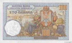 100 Dinara YOUGOSLAVIE  1934 P.031 pr.NEUF