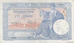 100 Dinara SERBIE  1905 P.12a TTB+