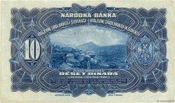10 Dinara YOUGOSLAVIE  1920 P.021a TTB+