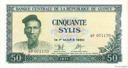 50 Sylis GUINÉE  1971 P.18 SPL