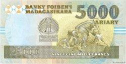 25000 Francs - 5000 Ariary MADAGASCAR  1993 P.74Aa SPL+