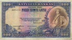 500 Latu LETTONIE  1929 P.19a TB+
