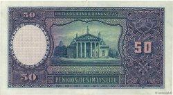 50 Litu LITUANIE  1928 P.24a SUP+