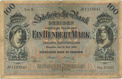 100 Mark ALLEMAGNE  1890 PS.0952a B