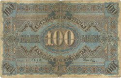 100 Mark ALLEMAGNE Dresden 1890 PS.0952a B