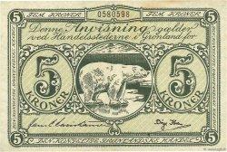 5 Kroner GROENLAND  1953 P.18a TTB