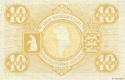 10 Kroner GROENLAND  1953 P.19b SPL