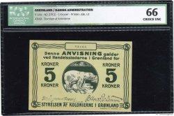 5 Kroner GROENLAND  1913 P.14A pr.NEUF