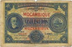 20 Escudos MOZAMBIQUE  1921 P.070b pr.TB