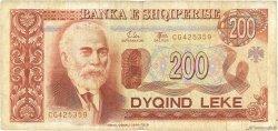 200 Lekë ALBANIE  1994 P.56a TB