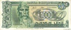 1000 Lekë ALBANIE  1995 P.61b TTB